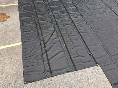 These Lumber Tarps are suited for loads that are 8ft wall and 8ft wide.