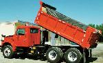 Waterproof Vinyl Dump Truck Tarps w/ Side and Tail Flaps