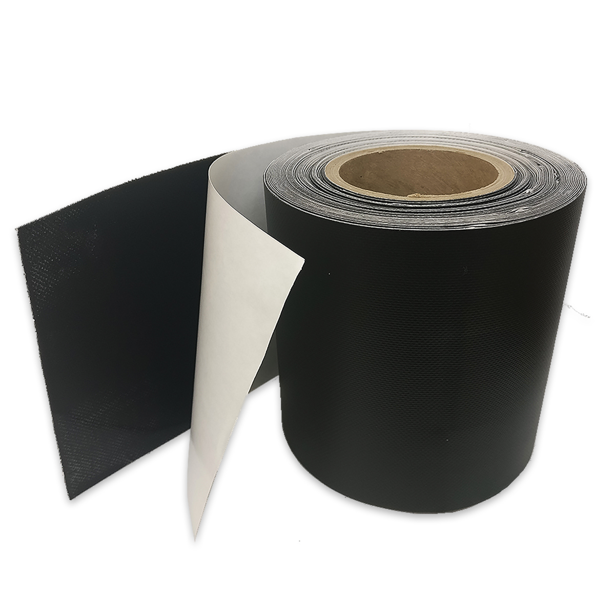 "Tarp Repair Tape (6"" x 50 Roll) - Vinyl Tarp Tape, Black"