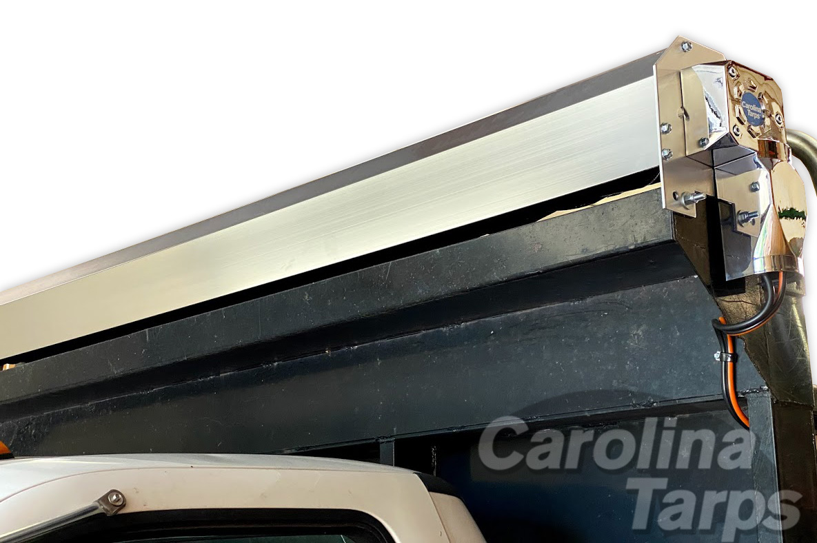 Tarp Wind Deflector with Mounting Hardware, 103 Aluminum Wind Screen