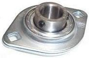 Axle Bearing with Flanges, 3/4 Shaft
