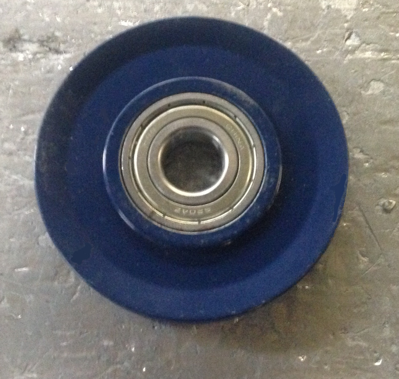 "Mountain Z7004B 4"" Cable Pulley w/ Bearing"