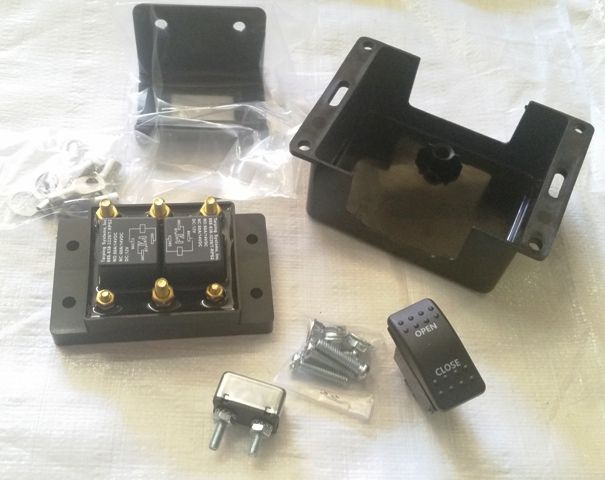 Weatherproof Reverse Polarity Super Solenoid Switch Kit (Complete Kit)