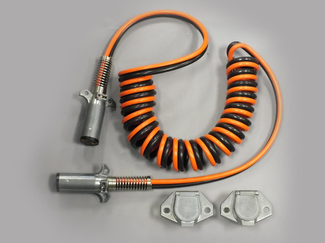 US Tarp 14993-VKIT Complete Coiled Wiring Kit - Vertical