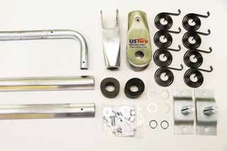 US Tarp 15324 Complete Arm Kit for 4-Spring 144 Bulletproof Aluminum System (up to 24')