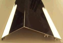 Aluminum Tarp Wind Deflector with Mounting Hardware, 103
