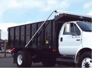 Manual Dump Truck Tarp System for Dump Beds Up to 24 (Aluminum, 4 Spring)