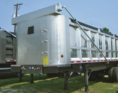 Electric Dump Trailer Tarp System for 28' - 34' Trailers Aluminum Underbody Spring Mount w/ 144 Lower Arms