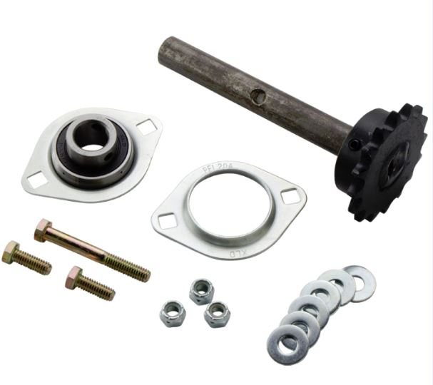 Mountain K0105C Complete Stub Shaft, Sprocket, & Bearing Assembly