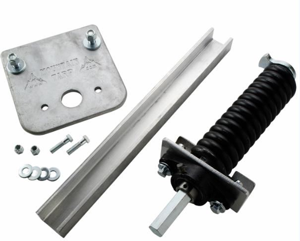 Mountain K0213 Hex Chrome Under-the-Rail Underbody Assembly with Drop Plate (w/o Arm Connector Plug)