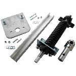 Mountain K0269HRA Hex Round Underbody Assembly with Pillow Block, Drop Plate, and Arm Connector Plug, Driver Side