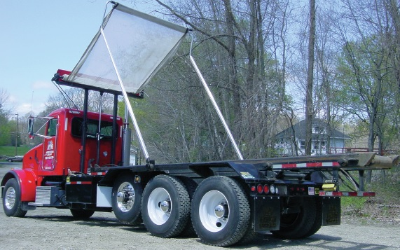 Pioneer Hr1500pto Tarping System For Hooklift And Rolloff