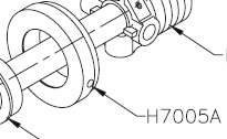 Pioneer H7005A Spacer for Spring Loaded Roller