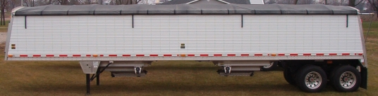 Premium Side Roll Tarp System for Trailers / Containers - 42 (Bows Not Included)
