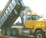 Manual Dump Truck Tarp System for Dump Beds Up to 23' (Steel, 4 Spring)
