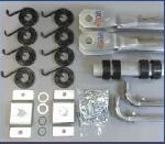 US Tarp 11564 Complete Arm Kit for 4-Spring Aluminum System (up to 24')