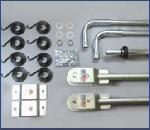 US Tarp 12223 Complete Arm Kit for 4-Spring Steel System (up to 24')